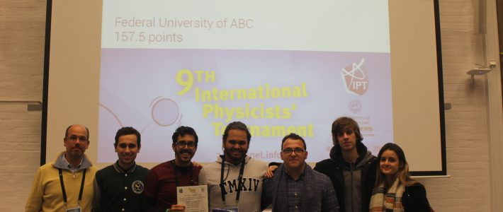 Brazil in the International Physicists' Tournament!
